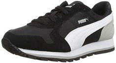 Puma ST Runner NL Jr, Unisex-Kinder Sneakers, Schwarz (black-white-drizzle 05), 37 EU (4 Kinder UK) - http://on-line-kaufen.de/puma/37-eu-puma-st-runner-nl-jr-unisex-kinder-sneakers-9