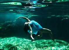 Underwater Dance / Ballet. @Deidré Wallace