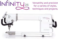 HQ Infinity 26 Inch Longarm Quilting Machine