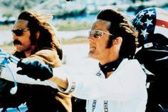 Dennis Hopper and Peter Fonda in Easy Rider, 1969.