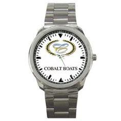 Cobalt Boats Logo Sport Metal Watch - www.greatdealstore.tk