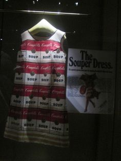 The Souper Dress, Museo de la Moda. Santiago,Chile.