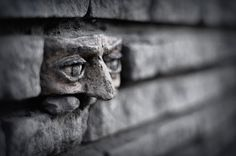 street art Another brick in the wall - In Gorzow, Poland