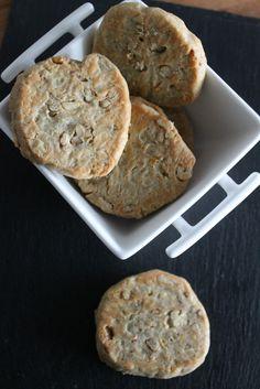gallecookies: ¿Y si cambiamos un poco? Galletas de queso azul y nueces