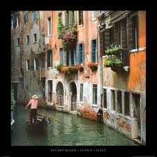 Venice, Italy, 2003:  by far, the MOST romantic place I have ever been!
