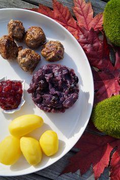 Recettes gourmandes by Kélou: Chou rouge et boulettes de viande façon suédoise