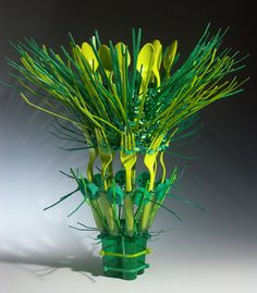 Emily Dvorin Contemporary Basketry: Gathered Materials/Industrial