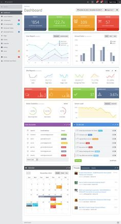 10+ Best Responsive HTML5 Admin #Dashboard - Panel Templates in 2013 | Responsive Miracle: