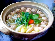 World of sumo and in our house Chanko nabe is the meal of champions