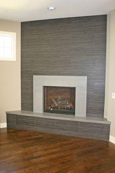 Concrete Fireplaces - modern - fireplaces - minneapolis - Concrete Arts