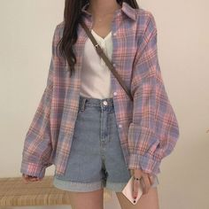 ulzzang fashion korean fashion aesthetic outfits s - Retro Outfits, Mode Outfits, Cute Casual Outfits, Girl Outfits, Casual Clothes, Korean Casual Outfits, Vintage Summer Outfits, Winter Outfits, Summer Clothes