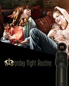 Magnifico Champagne Ad #wine #advertisement #champagne