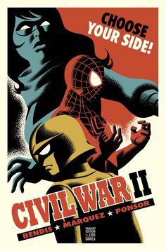 Civil War II #2 Michael Cho Variant Marvel Comic Book NM