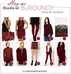 #burgundy #borgoña #vino #burdeos www.loslooksdemiarmario.com #personalshopper #guiadecompras asos, burgundy, color borgoña, color burgundy, color vino, fashionblogger, guia de compras xl, look burgundy, los looks de mi armario, mujeres reales, personal shopper, ropa burgundy, street style burgundy