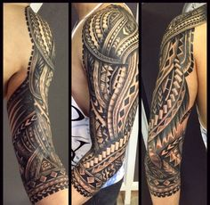 Tattoo polynesian