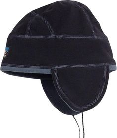 SOFT Polyester from Recycled Bottles! Goodfellow /&Co Black Knit Beanie Hat Cap