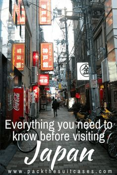 Planning your first trip to Japan: what you need to know | PACK THE SUITCASES