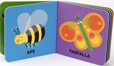 """Primissimi libri di contatto: libri che possono essere dati in mano direttamente ai bambini (6-12 mesi) affinché facciano tutti gli """"esperimenti"""" che desiderano."""