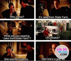 Jake From State Farm on Pinterest | US states, Farms and ...