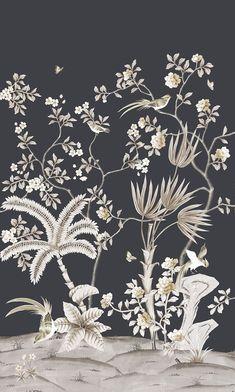 Summer Collection Herading Spring Pavillion-221005 Silk