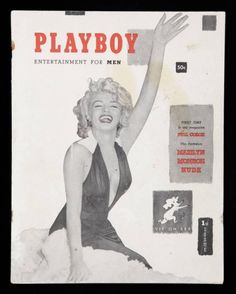 A first issue of Playboy magazine (HMH Publishing 1953)...