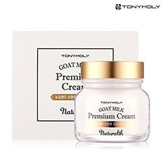 [TONYMOLY] Naturalth Goat Milk Moisture Skin Care (5. Premium Cream 60ml)