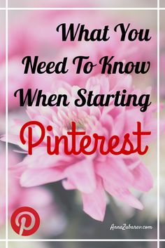 What You Need To Know When Starting Pinterest And What Are The Key Factors On Growing Your Successful Profile via @annazubarev  #PinterestStrategies #ScalingPinterest #socialmediatips