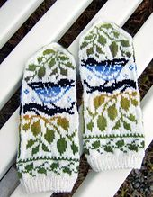Ravelry: Birds and Leaves pattern by Natalia Moreva