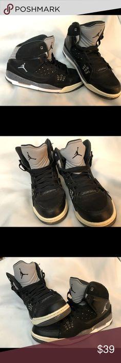 the best attitude 92e35 30166 Nike Men s Jordan SC 1 538698 003 Black Wolf Grey VGUC Men s Jordan SC 1  538698