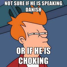 danish or choking?