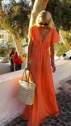 Night Gown Dress, Boho Fashion, Fashion Outfits, Relaxed Outfit, Resort Dresses, Beach Attire, Summer Outfits, Summer Dresses, Curvy Outfits