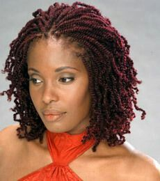 Burgundy nubian twist