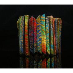 Meredith Arnold Polymer Clay Tiles Bracelet