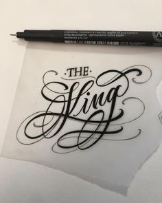 "Brigantetattoo on Instagram: ""- the KING - #tattoo #tattoos #letteringtattoo #art #lettering #letters #freehand #drawing #blacktattoo #drawing #design #graphic #chicano…"""