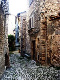 Sermoneta Village (Latina), Italy