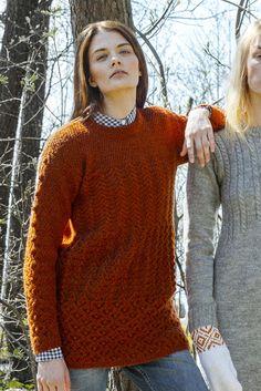 Naisen kohoneulepusero Novita Nalle | Novita knits