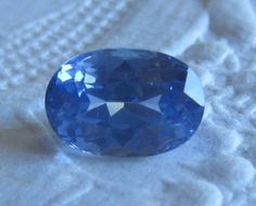 2.24 Carat Violet Blue Ceylon Sapphire, Nice Alternative for Engagement Ring, by JuliaBJewelry