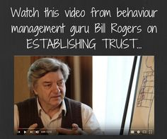 Start out on the right foot with a new class! Watch this video on how to establish trust and set your classroom up for great teaching. If you enjoy this vid, make sure you take a look at all of Bill's other videos on managing behaviour. There are a whole bunch of them!