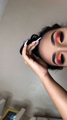 Ideas For Nails Yellow Matte Eye Makeup Ideas For Nails Yellow Matte Ey. Ideas For Nails Yellow Matte Eye Makeup Ideas For Nails Yel Glam Makeup, Matte Eye Makeup, Makeup Eye Looks, Baddie Makeup, Eyeshadow Looks, Skin Makeup, Makeup Inspo, Eyeshadow Makeup, Pink Eyeshadow