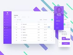 """Updated: dashboards, admin panels & analytics examples in Handpicked Excellent Dashboards"""" is published by Premiumuikits in Muzli - Design Inspiration. Dashboard Design, Web Dashboard, Ui Web, Material Design Dashboard, Web Design, Layout Design, Web Layout, Flat Design, Graphic Design"""