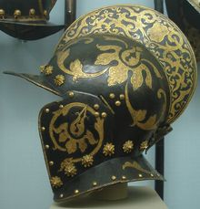 Burgonet for the State Guard of Christian I, Elector of Saxony, c. 1586-91