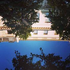 #sun #sky #reflet #reflection #lille