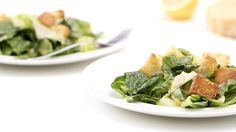 There's no need to dine out when you crave a classic Caesar salad -- make this rendition at home, with all the bells and whistles.