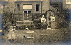 Playing in the garden by lovedaylemon, via Flickr