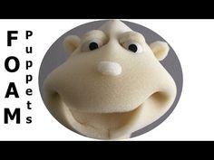 How to Make Foam Hand Puppets - Sünger El Kuklası (Easy & Simple) DIY - QPerformans - YouTube