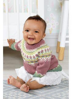 Billedresultat for noragenser Baby Cardigan Knitting Pattern Free, Baby Knitting Patterns, Knitting For Kids, Crochet For Kids, Drops Baby, Baby Barn, Kids Patterns, Drops Design, Fair Isle Knitting