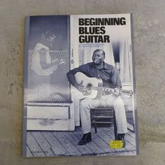 Vintage the mel bay modern guitar method internationally acclaimed vintage beginning blues guitar an instruction manual by jerry silverman copyright 1964 by oak fandeluxe Image collections