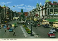 The original John Hinde Collection postcards archive Ireland and John Hinde edition photographs Images Of Ireland, Erin Go Bragh, Dublin City, Arran, Emerald Isle, Republic Of Ireland, Dublin Ireland, Walking Tour, The Places Youll Go