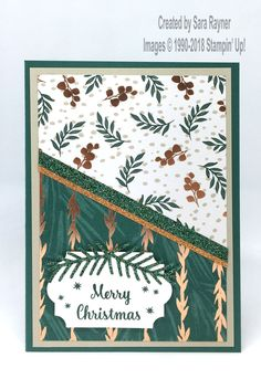 Tranquil Star of Light Christmas card - Sara's crafting and stamping studio Stamped Christmas Cards, Simple Christmas Cards, Homemade Christmas Cards, Merry Christmas Card, Christmas Scrapbook, Xmas Cards, Homemade Cards, Handmade Christmas, Holiday Cards