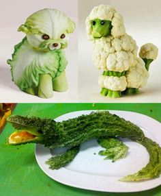 Food that looks like cute animals - photo#2